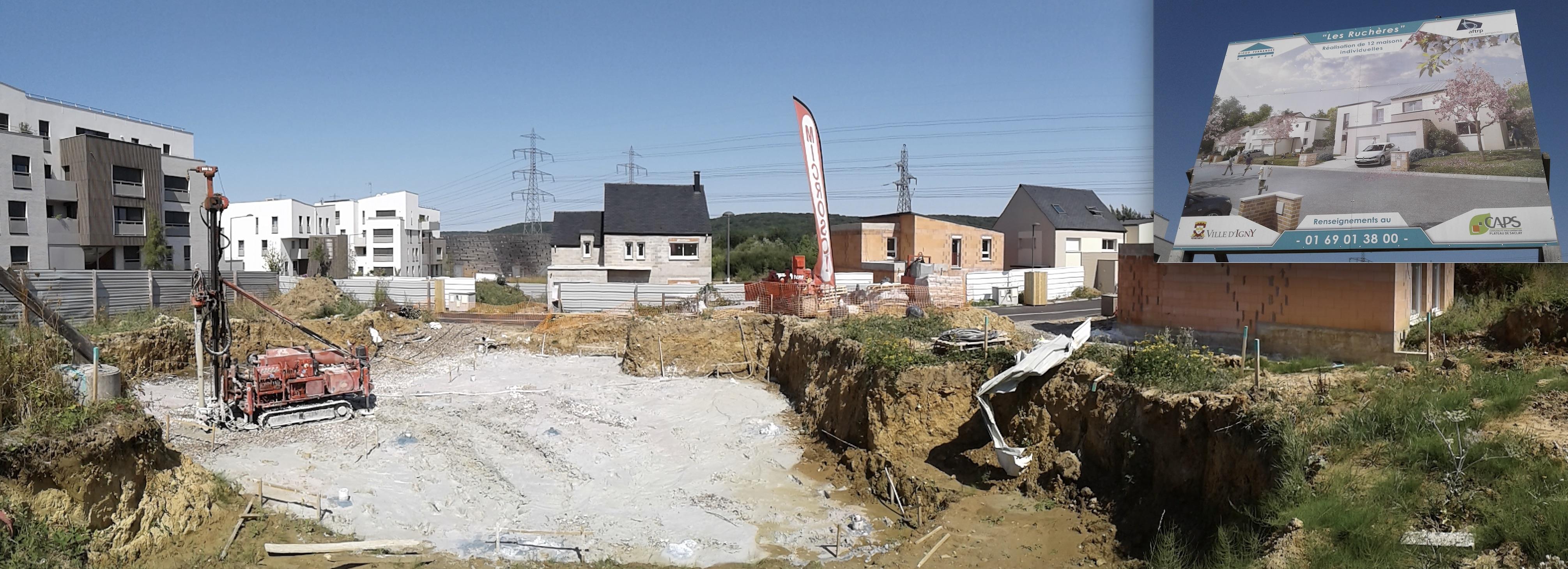 CONSTRUCTION DU LOTISSEMENT LA RUCHÈRES