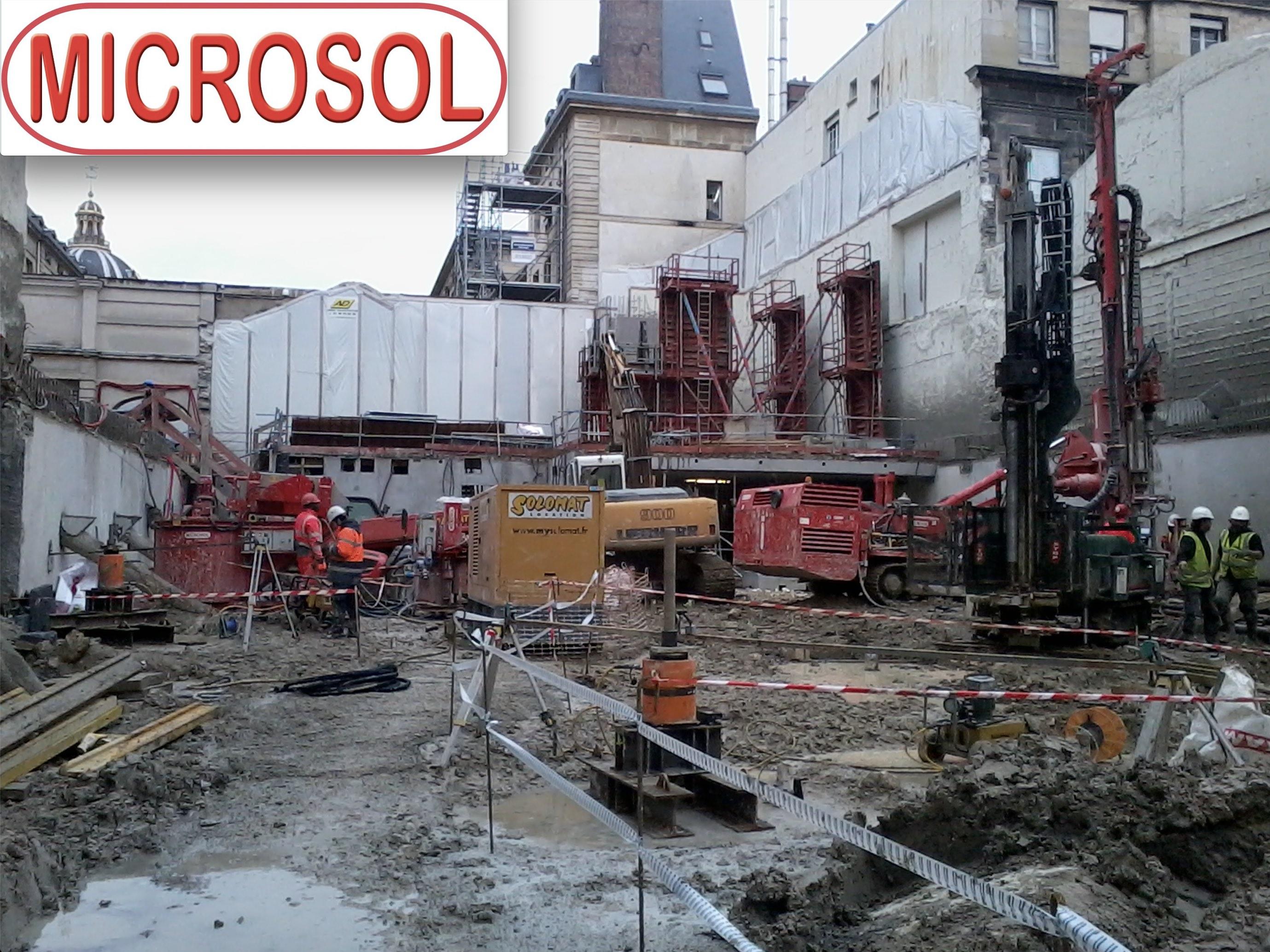 CONSTRUCTION D'UN AUDITORIUM AU SEIN DE L'INSTITUT DE FRANCE