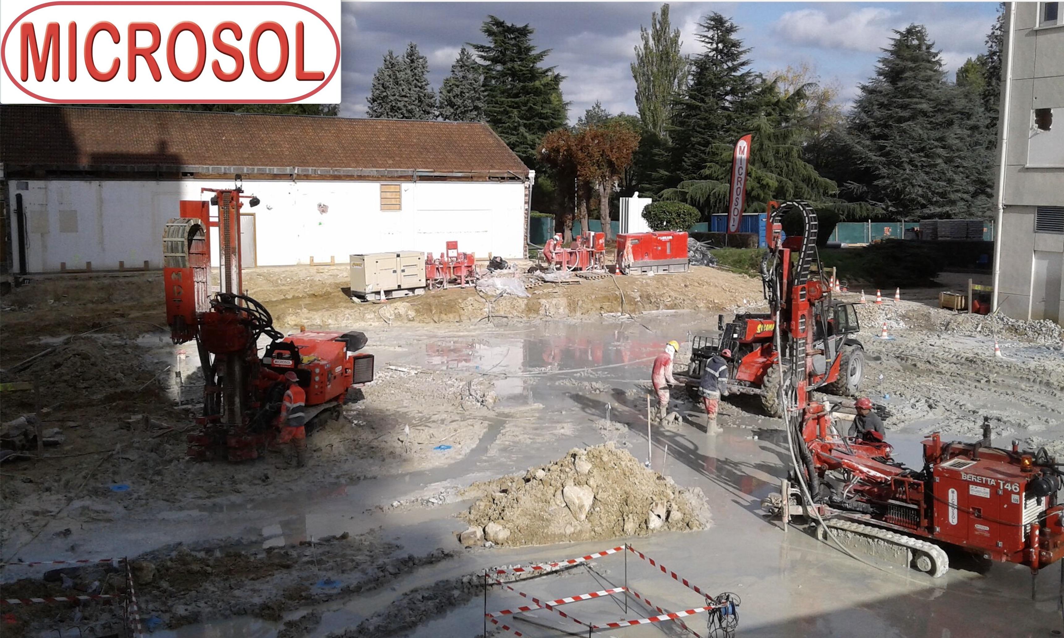 CONSTRUCTION D'UN ATRIUM AU SEIN D'UN COLLEGE